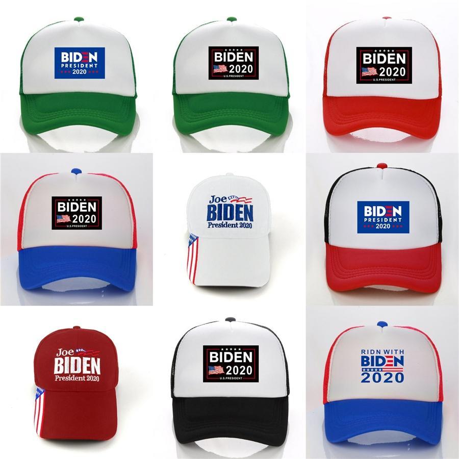 New Donald Biden 2020 Cap Camouflage Baseball-Caps 4 Styles Sommer Keep America Große Snapback Hip Hop Dad Kappen Camo Sports Visor Cap N91 # 95