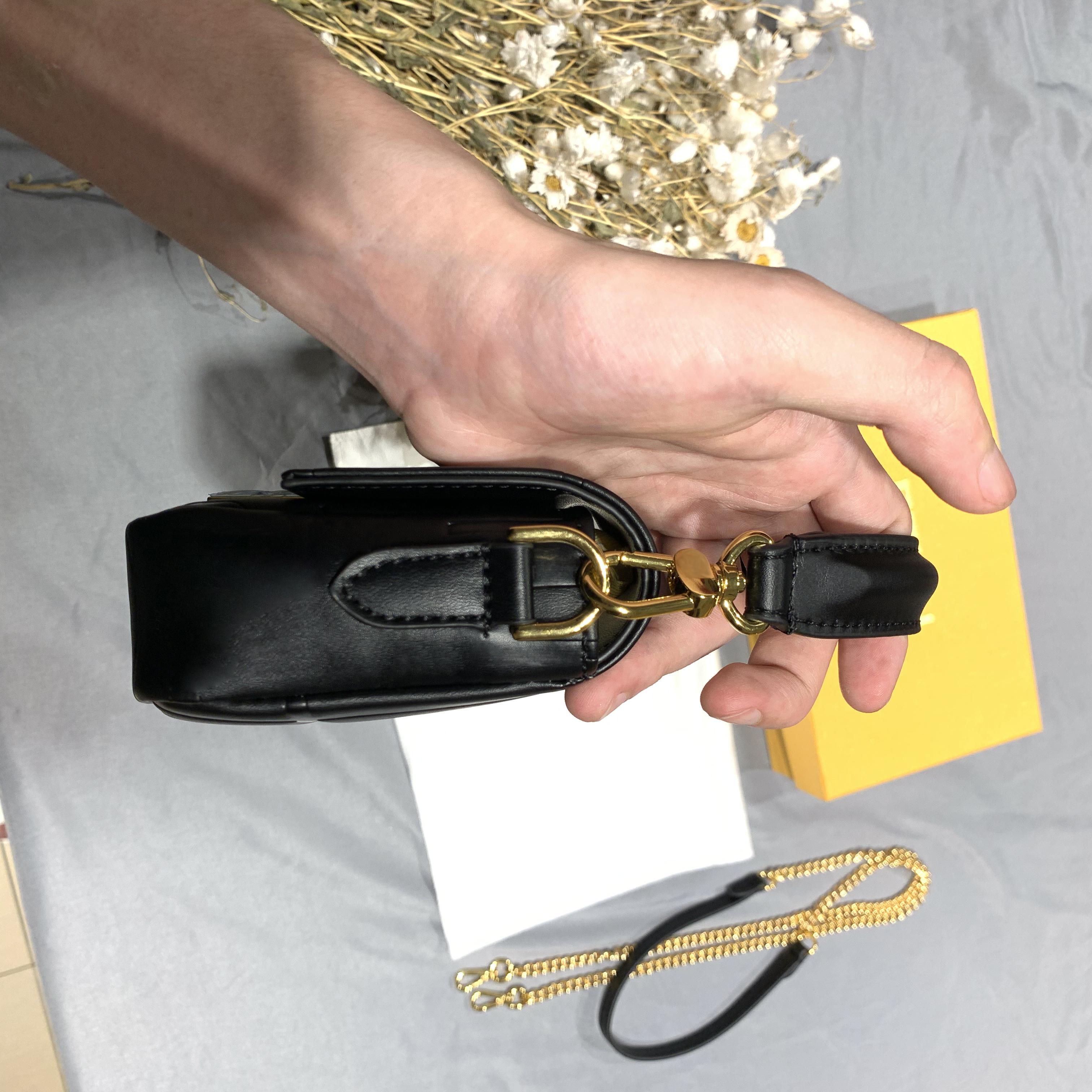 Handtaschen Ketten Pack Frauen Umhängetasche für Geldbörse Lady Messenger Leinwand Großhandel Presbyopic Hobo Tote Brusttasche MOEGE