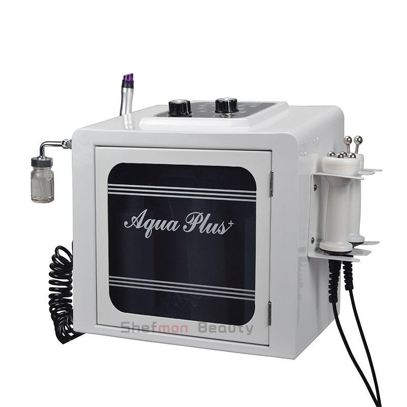 Hydra Microdermabrasion Hydro Dermabrasion الوجه آلة المياه الأكسجين جيت قشر RF BIO شد الوجه العناية بالبشرة التنظيف العميق معدات سبا