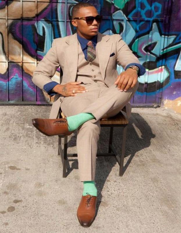 Notch Lapel Latest Coat Pants Design Men Suits Bespoke Fashion Tuxedos Gentlemen Classical(Jacket+Pants+Tie+Handkerchiefs+Vest)