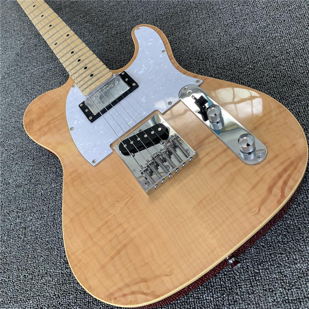 Firehawk Wood Electric Guitar, Fotos reales que muestran Guitarra Telecaster Guitarra Eletrica Guitarras China, Guitarra de envío gratis Guitarra