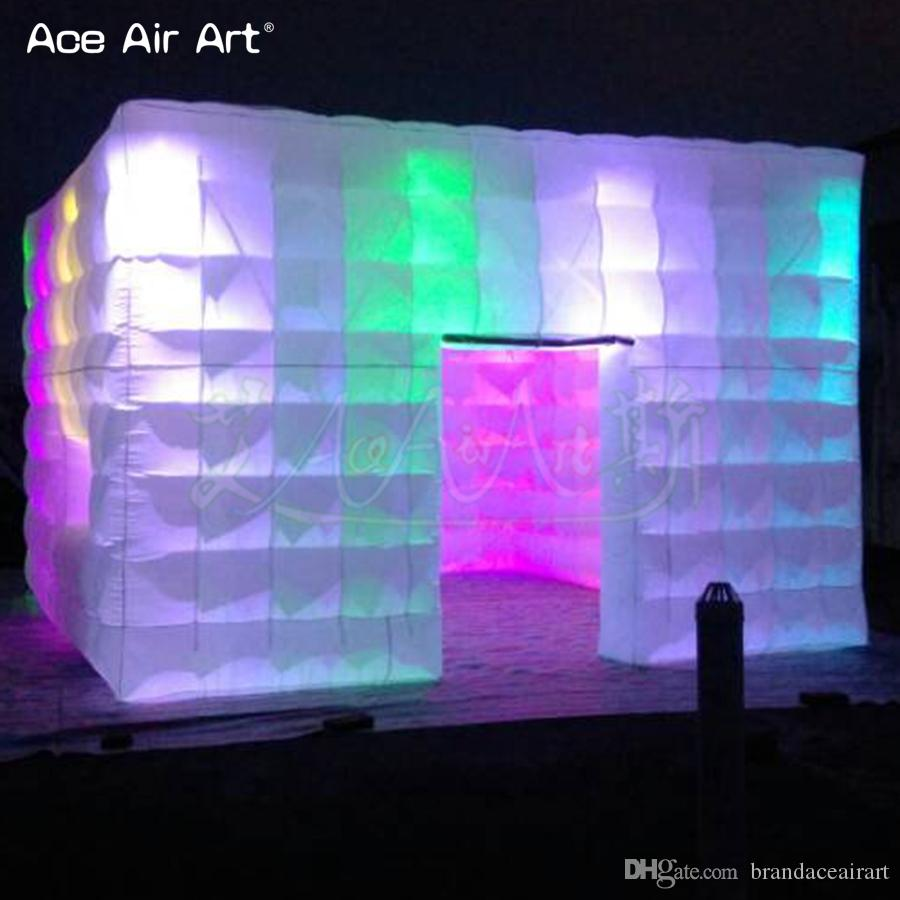 4.8X4.8X3.2m inflatable party tents for sale, inflatable cube for promotion, exhibition