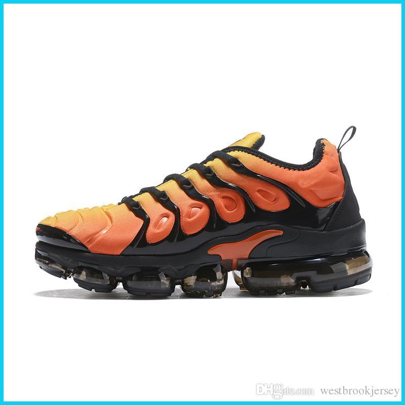 Marca TN Plus diseñador para hombre de las zapatillas de deporte al aire libre Tns zapato zapatos Gym Fitness Blanco Negro Gris Deporte Formadores Chaussures Online