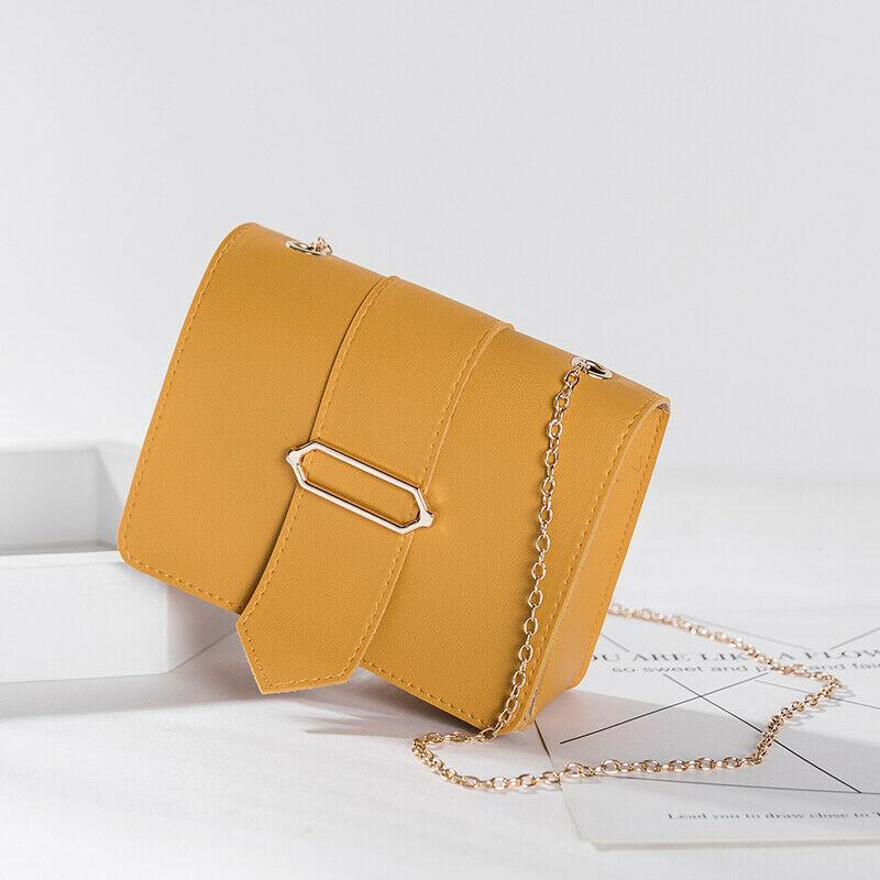 Moda PU Leather Mulheres sacos de alta qualidade bolsas das senhoras Meninas Shoulder Bag pequena cadeia Crossbody Messenger Bags