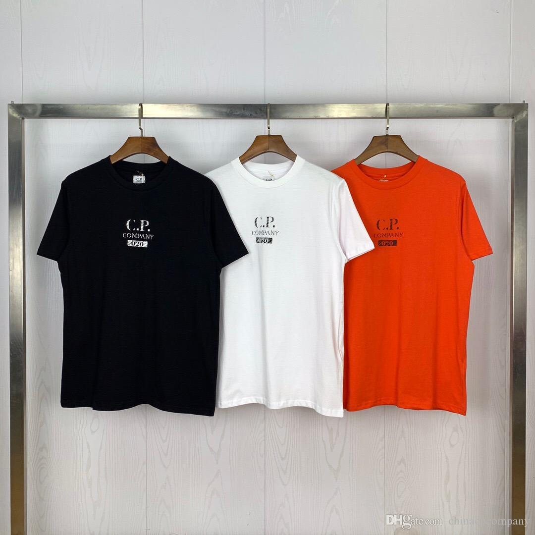 novos fundos de algodão T-shirt de manga curta gonng CP topstoney PIRATA EMPRESA konng dos homens Verão Men Casual marca de moda por atacado