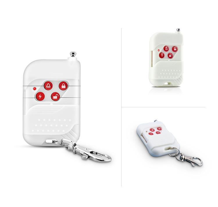 Additional ! New Wireless Remote Control For Home Security Burglar GSM Alarm System 433MHz 1PCS Free Shipping