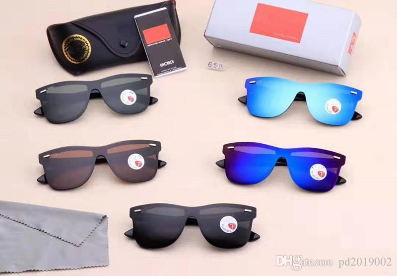 Nouveautés Luxury Design 5 couleurs Couples Lunettes de soleil sport lunettes de soleil avec un jeu complet d'emballage Envoi gratuit 98017.
