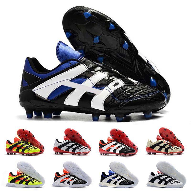 2020 الأصلي 98 أحذية المفترس كرة القدم أحذية دريم مسرع الشمبانيا FG / IC لكرة القدم المرابط أحذية رياضية الرياضة مصمم الرجال المدربين 39-45