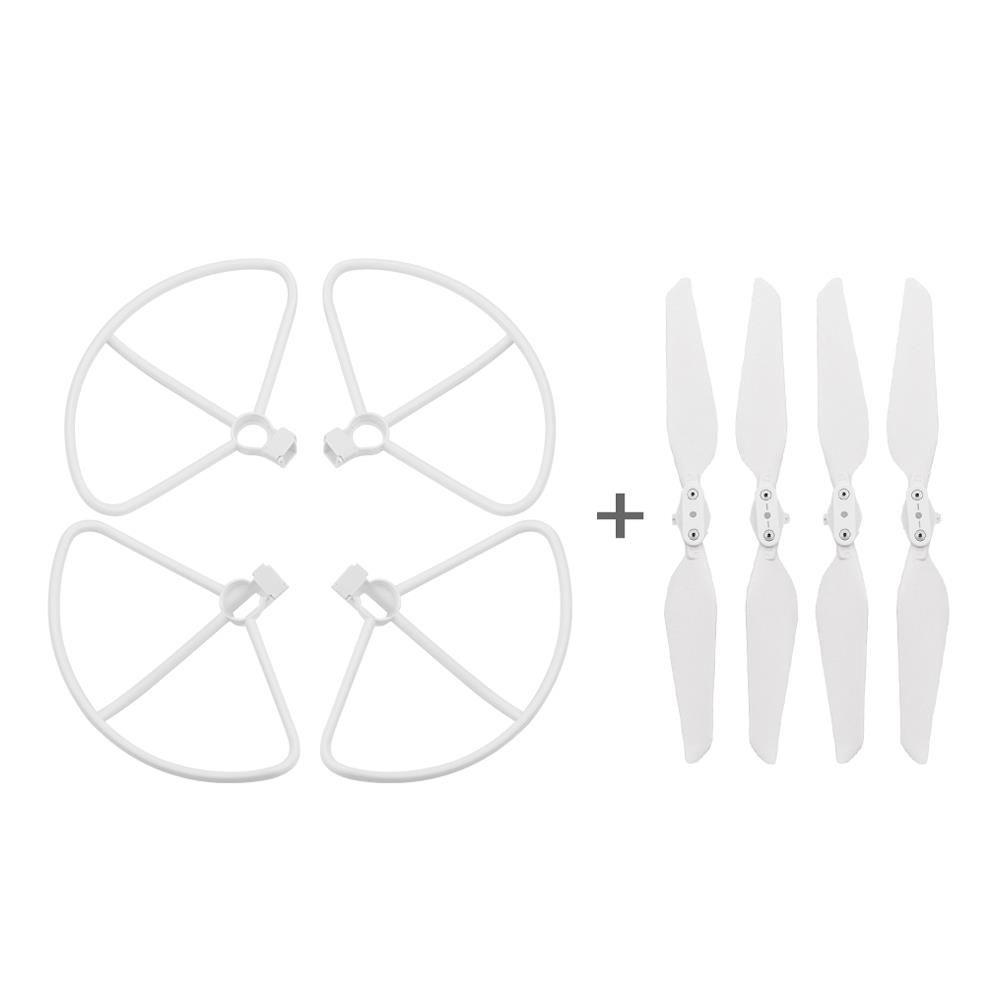 Pieghevole della copertura di Quick Release Elica di protezione Set Per FIMI X8 SE RC Drone Quadcopter - Bianco