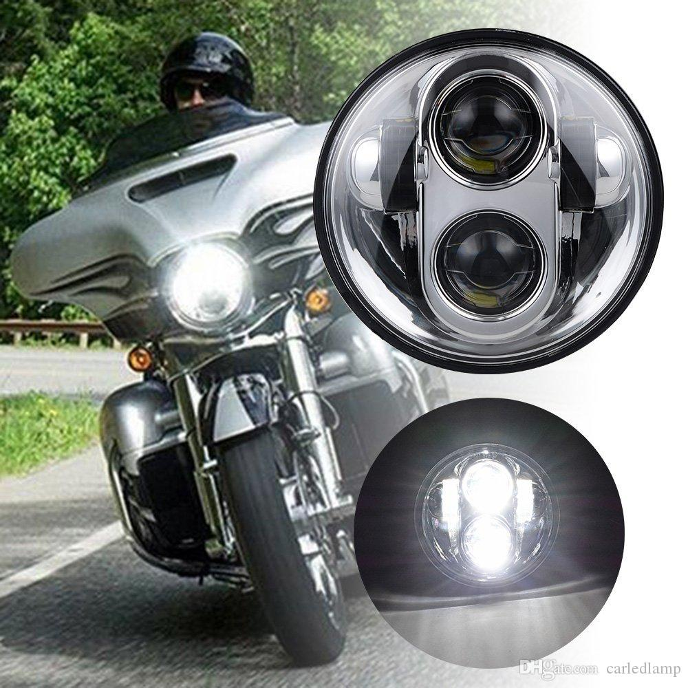 5.75'' led headlamp 5.75INCH Round 40W Projector LED Headlight for Sportster