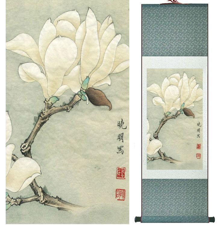 Высокое качество цветочной живописи китайская стирка картина украшения дома живопись китайское традиционное искусство задыхаться № 32318