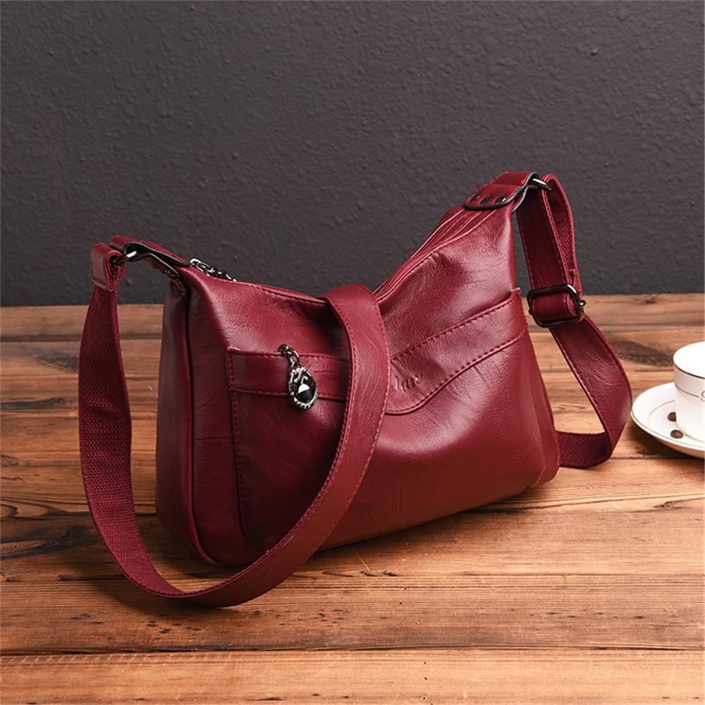 Kadınlar Messenger Çanta Yüksek Kalite Pu Deri Kadınlar Çanta Bayan Omuz Çantaları Crossbody Çanta
