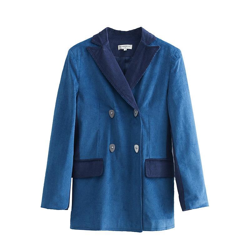 Июнь 75-6170 Европейские и американские модные вельветовые ткани, соответствующие маленькому костюму, выращивают на фабрике морали SH190902