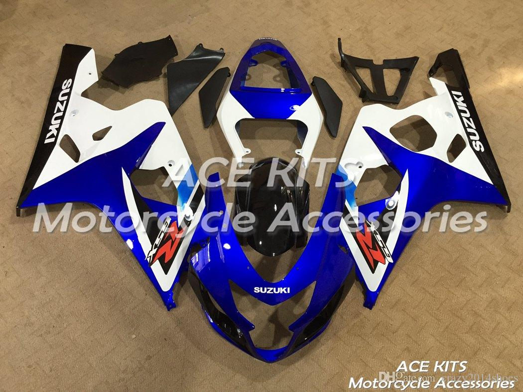 New ABS motorcycle Fairing Kits 100% Fit For Suzuki GSXR600 GSXR750 2004 2005 600 750 04 05 K4 All sorts of color NO.A9