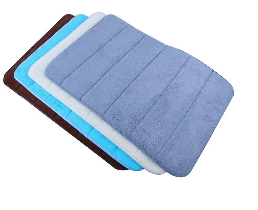 1PC morbida stuoia di bagno piano camera da letto tappetino doccia assorbente non slittamento del rilievo doccia pavimento della coperta dell'ammortizzatore della casa accessori per il bagno