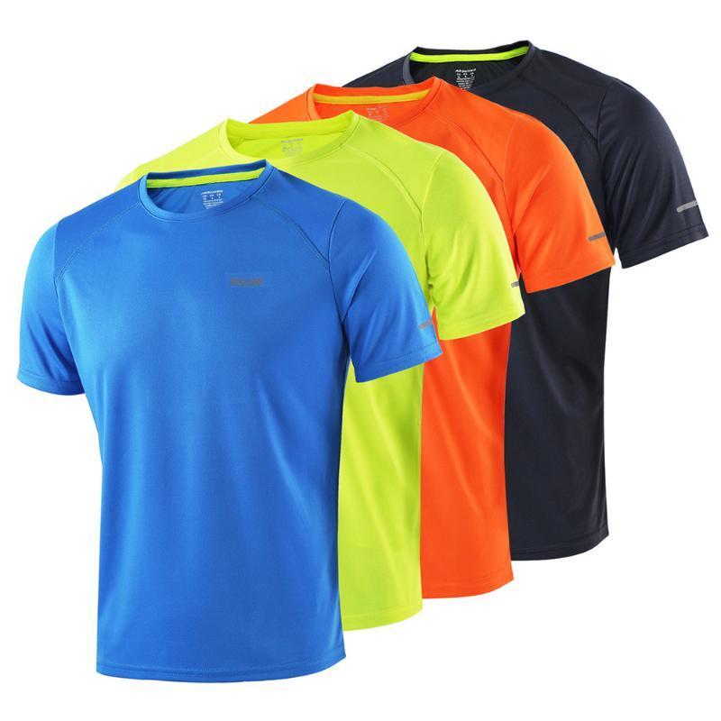 100% tela de poliéster Correr Deportes Ciclismo camisetas de alta secado rápido de manga corta camisetas de atletismo para gimnasia ropa de verano para mujeres