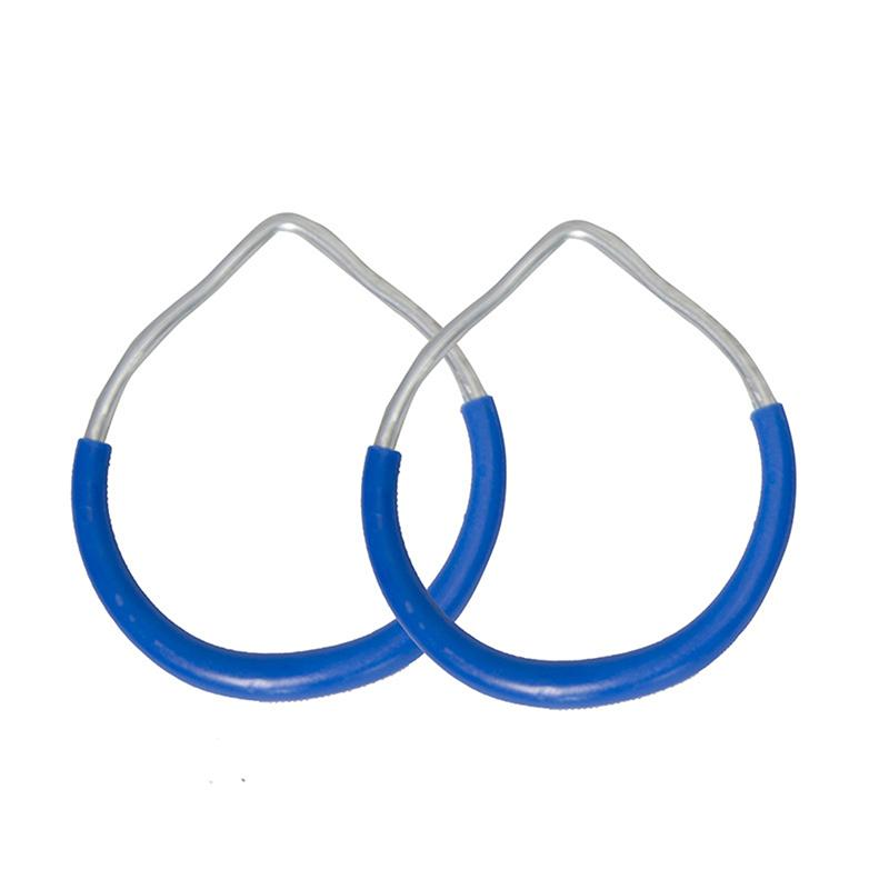Crianças de trapézio pull up bar Anéis crianças aperto de mão Ferro de plástico esportes fitness O anel de tração Parque exterior Início balanço Equipment
