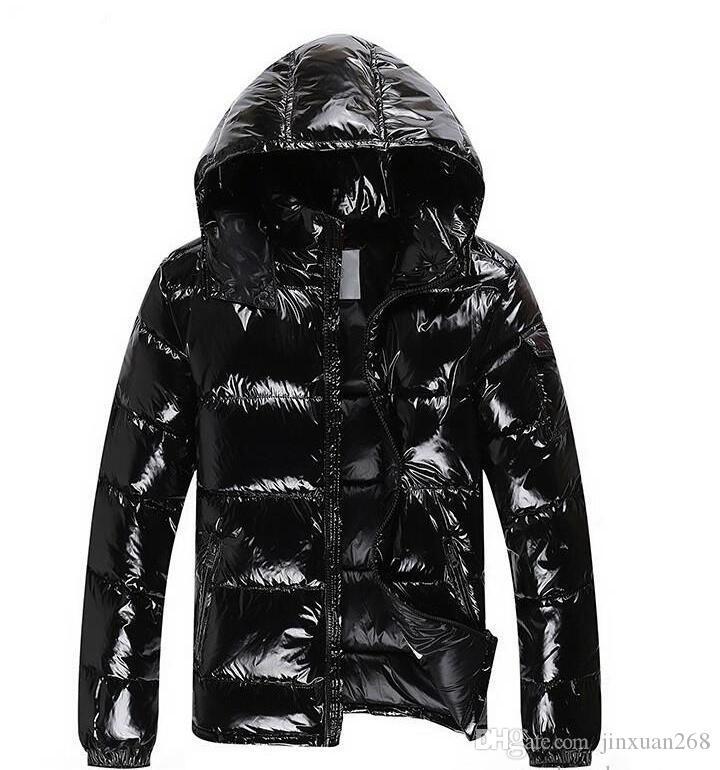 Großhandel Reißverschlusstaschen Casual Verdicken Fashion Winter Hoodies Entendaunen Luxus Herren Mantel Brand Maya Warme Schwarze Jacke Jacken reWxoCdB