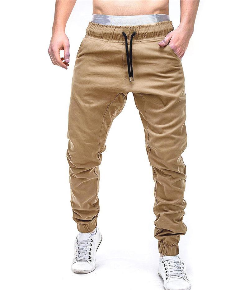 Pantalon Croix Designer Printemps Hommes Solide Couleur Mi taille en vrac Hommes Pantalons Sport Style décontracté Vêtements pour hommes