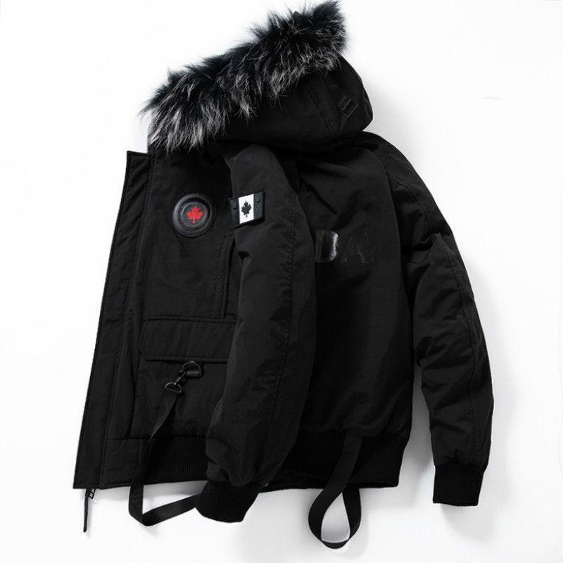 envío de los hombres libres del invierno 90% de pato blanco abajo de la chaqueta para hombre abrigos y chaquetas 80201