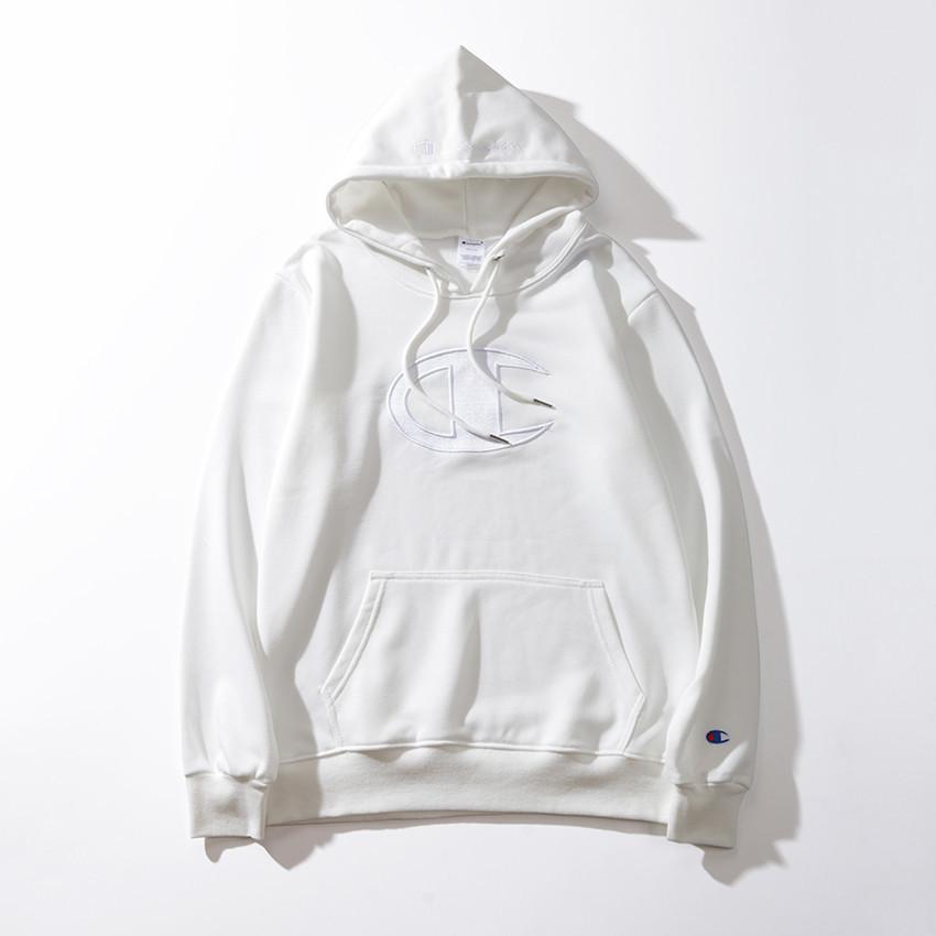 Adam Severler pamuk büyük Mektup Kazak baskı ince hoodie Boş zaman siyah ve beyaz Kazak hareket moda Streetwear Gevşek ceket