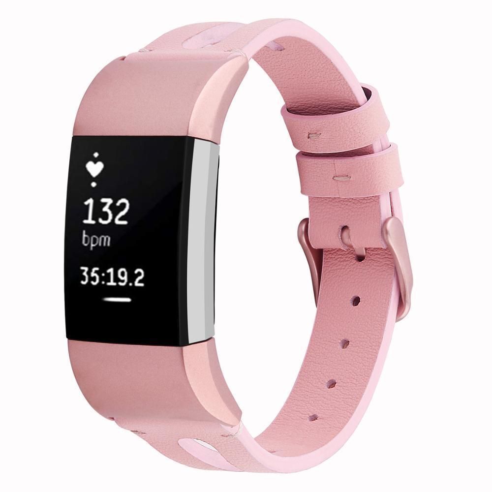 Deri Saat Kayışı Fitbit Şarj 2 Band Fitbit Şarj 2 Correa Için Yedek Deri Bilezik Correa Fitbit Izle 63003
