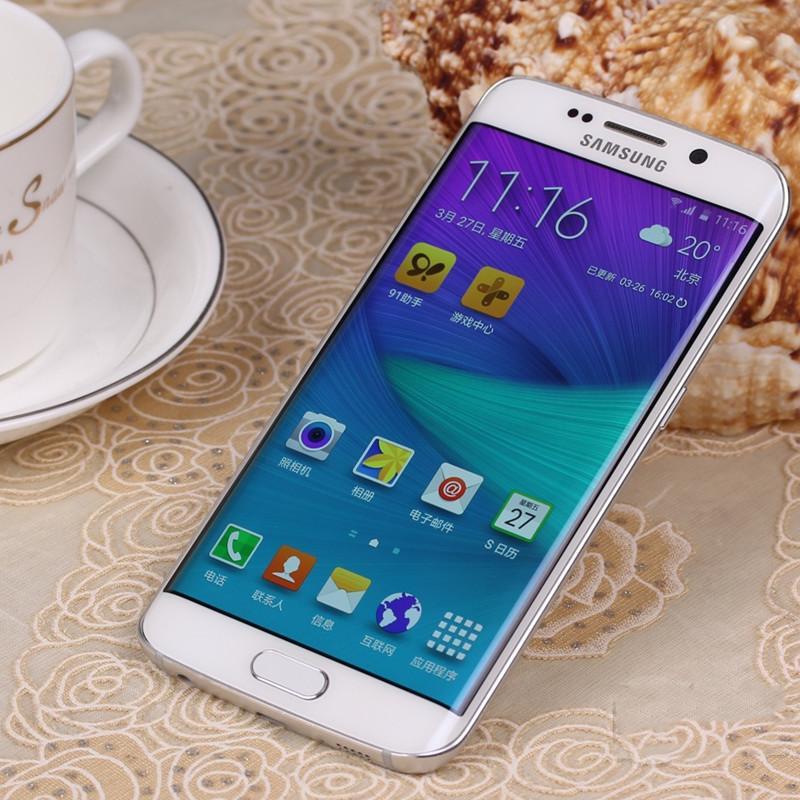 Reformiert Original Samsung Galaxy S6edg S9 setzte Handy 16GB 5.0inch 12MP einzelnes Sim 4G LTE