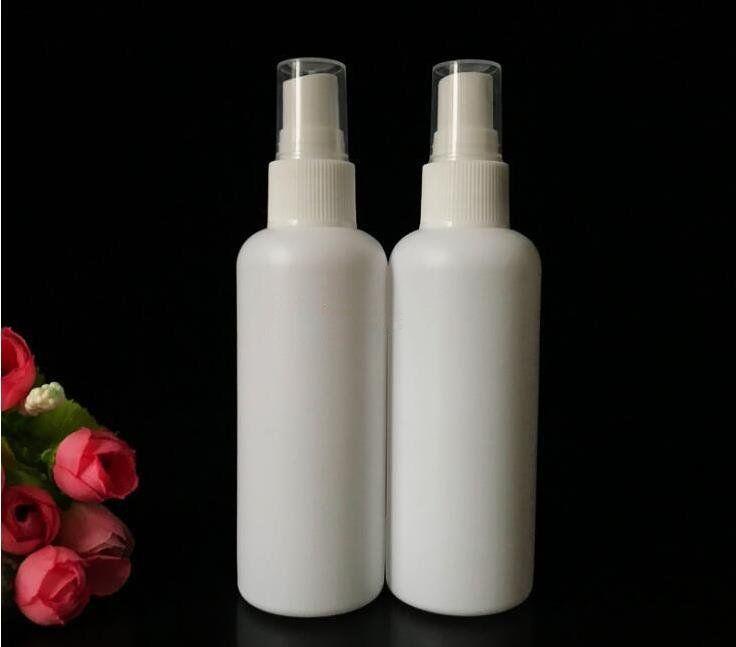 100 ml di profumo vuoto bottiglie Spray cosmetici spruzzatore portatile Da Viaggio contenitore di trucco Bottiglia di plastica disinfettante contenitore di Trasporto Libero