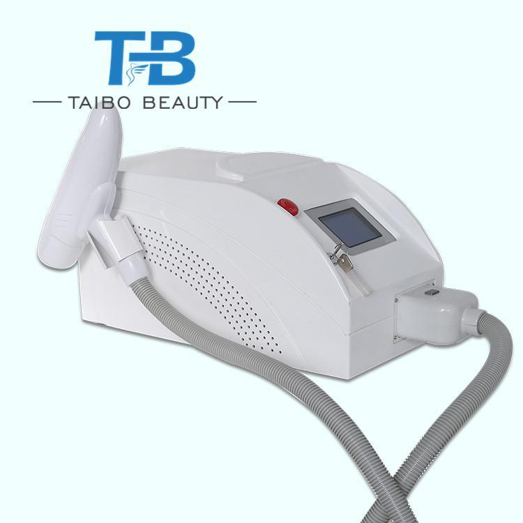 Macchina laser portatile del yag del nd del fornitore professionale per rimozione del tatuaggio, buccia di carbonio con lunghezza d'onda di 532nm 1064nm 1320nm