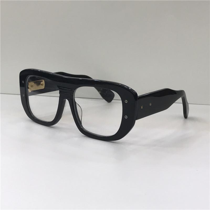 designer de moda vidros ópticos GRAN lentes claras quadrado quadro retro estilo simples transparente óculos de qualidade superior com caso
