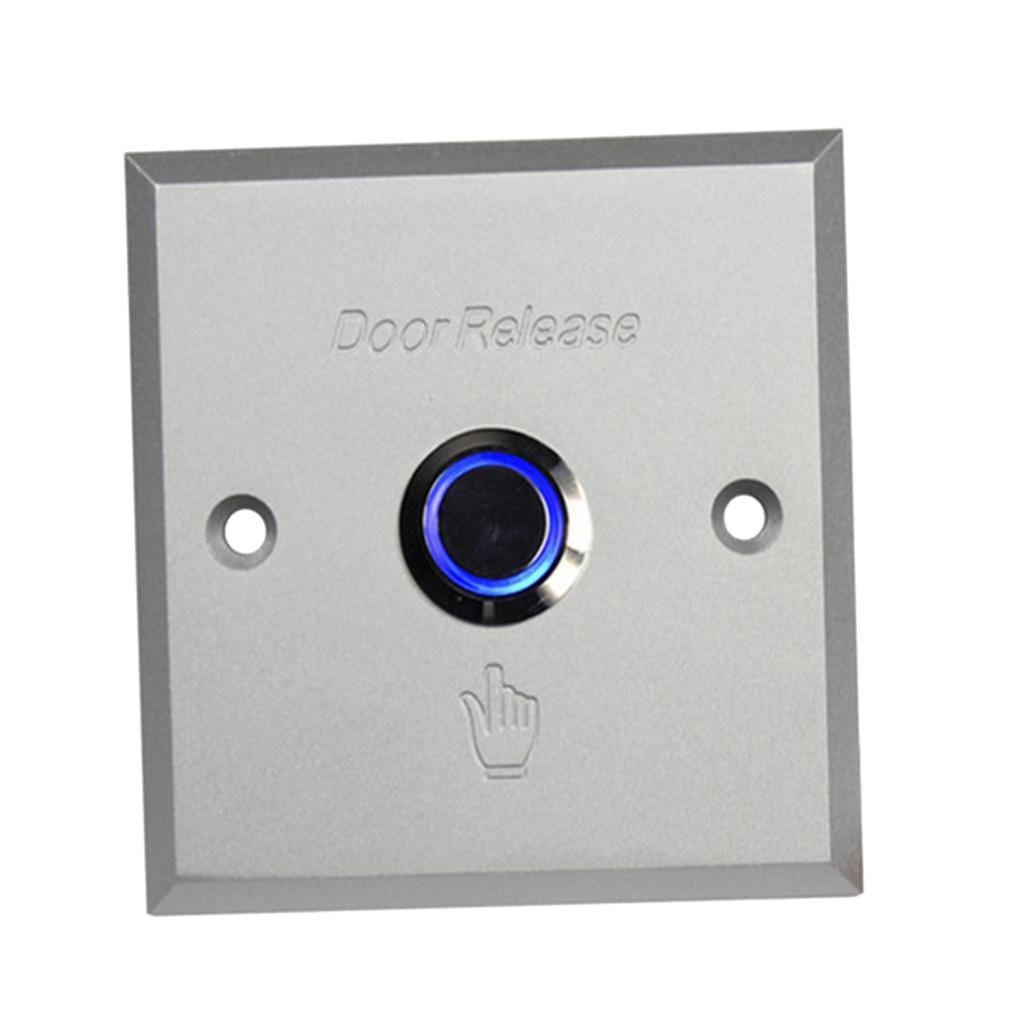 Porte électronique sortie bouton-poussoir avec indicateur LED pour Système de sécurité