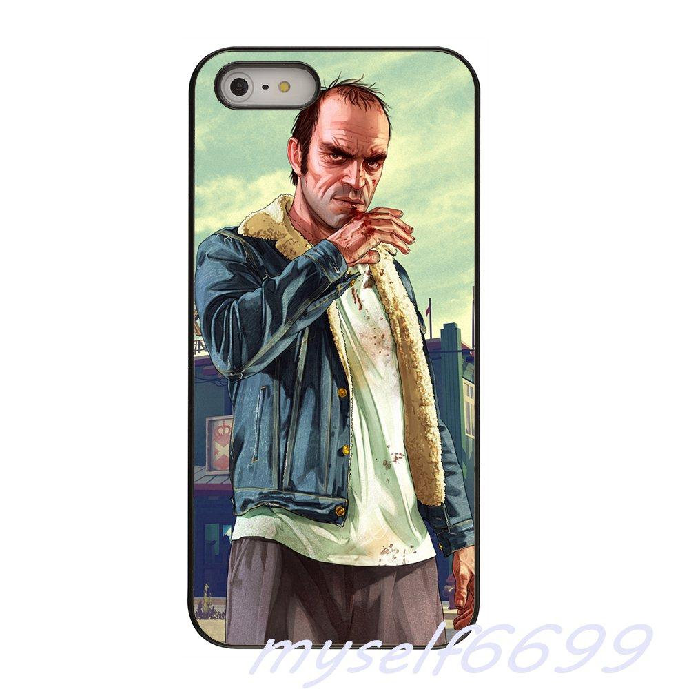 Compre GTA San Andreas Gta Grand Theft Auto 5 V Hard Phone Case Capa Para  Apple Iphone X Xs Xs Max 4 4s 5 5s 5c Se 6 6 S 7 8 Além De Ipod Touch 4 5 6