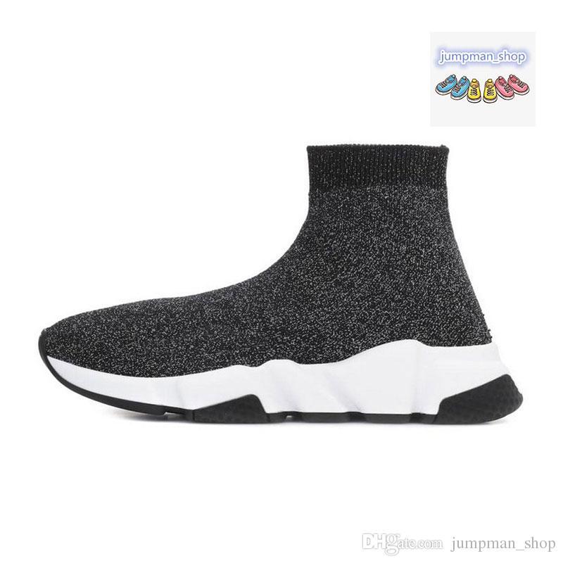 Barato Designer de Velocidade Trainer de Luxo sapatos casuais triplo preto cinza branco preto vermelho Meias Botas Sapatilhas Formadores Formadores tamanho Runner 36-45
