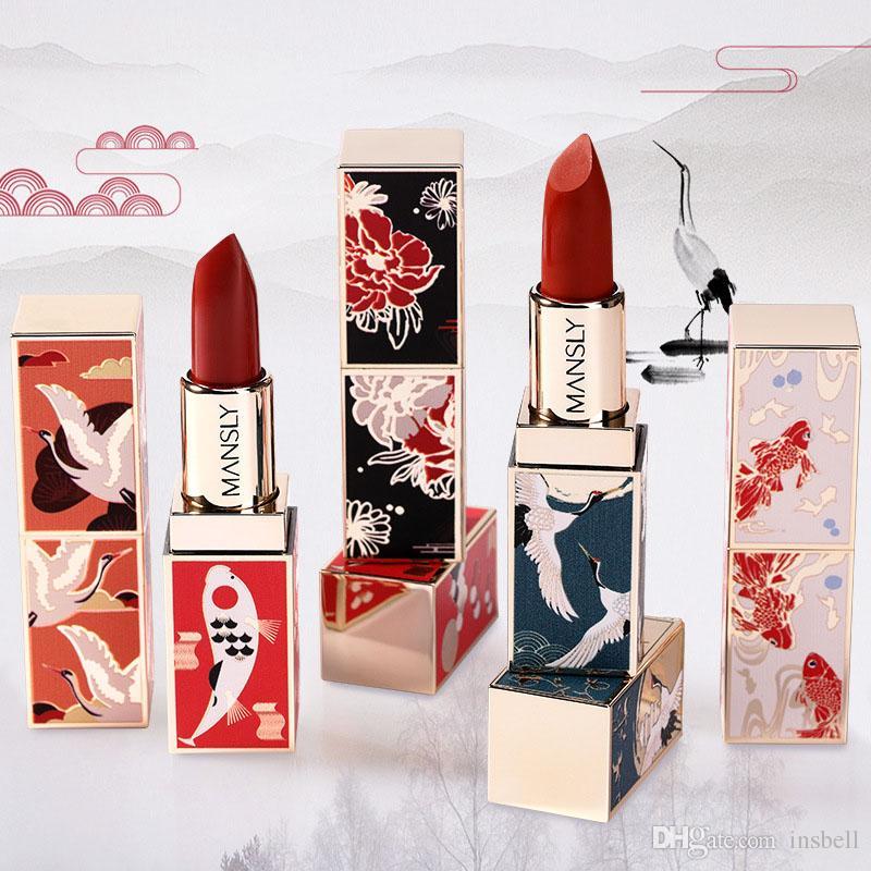 Rouge à lèvres ancientry Matte Multi Couleurs Hydra Lip Sticks Marque rouges à lèvres de maquillage 6 couleurs ePacket Livraison gratuite