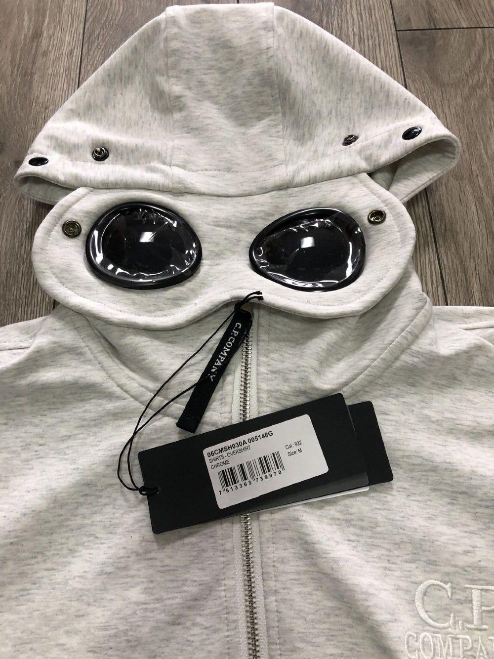 19SS CP 남성 재킷 브랜드 후드 지퍼 윈드 회사 디자이너 재킷 운동복 남성 명품 코트 선글라스 후드 캐주얼 B103433L