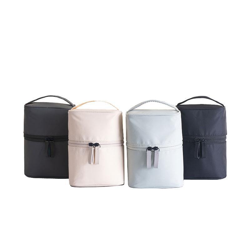 Портативный большая емкость для макияжа сумки Нейлон женщины путешествий Косметических Wash Organizer Случай с небольшим сетчатым карманом