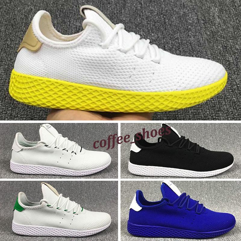 2020 New arrive Pharrell Williams x Stan Smith HU Primeknit Tennis men Shoes women Sneaker sports Shoes breathable EUR 36-45 F4