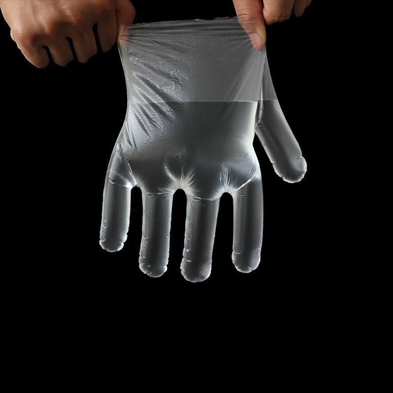 100Pcs / sacchetto di plastica usa e getta Guanti cibo Prep Guanti per cucina cucina di pulizia Prodotti alimentari Gestione Cucina Accessori Latex MMA3366