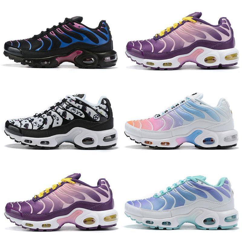 2019 Nuevas zapatillas de deporte para mujer Tn Plus Desingers transpirables Cusion Zapatillas de deporte casuales Nuevo color de llegada