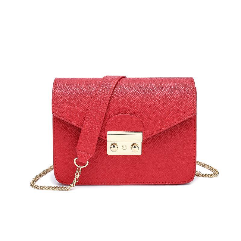 Tasarımcı-Kadın çantası yeni tek omuz yatık bayan küçük çanta yaz Avrupa ve Amerikan moda sınır ötesi moda zinciri Xiao Dişi