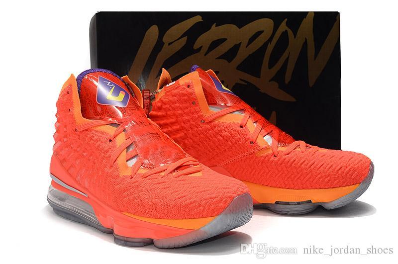 lebron 17 orange