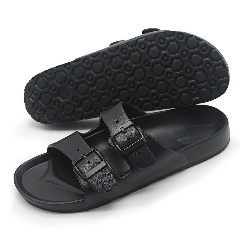 Sıcak satış-Flip kaymaz ayakkabı zy517 terlik kullanarak açık terlik yaz plaj spor gündelik Çift toka kayış terlik flop