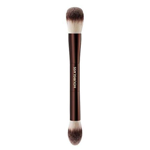 Mejor iluminación ambiental de reloj de arena Editar pincel de maquillaje con doble extremo Face Multifuncional Bronzer Blush Polvo Pinceles cosméticos Envío gratis