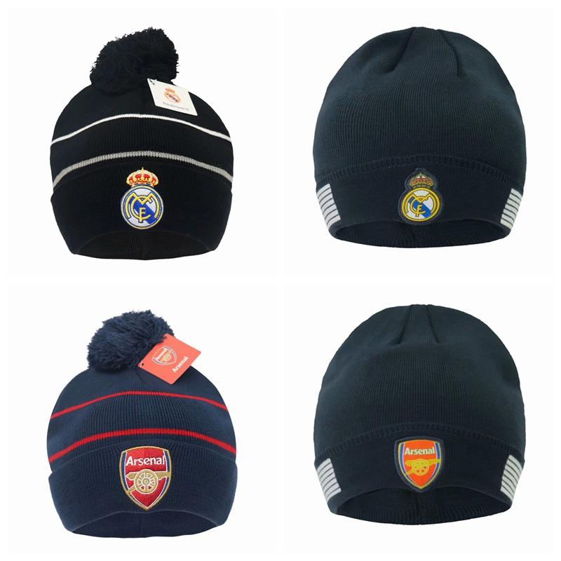 Collectable Autumn winter Soccer Football Club Logo Football Gift For Real Madrid Outdoor Hats Football Soccer Sports Caps