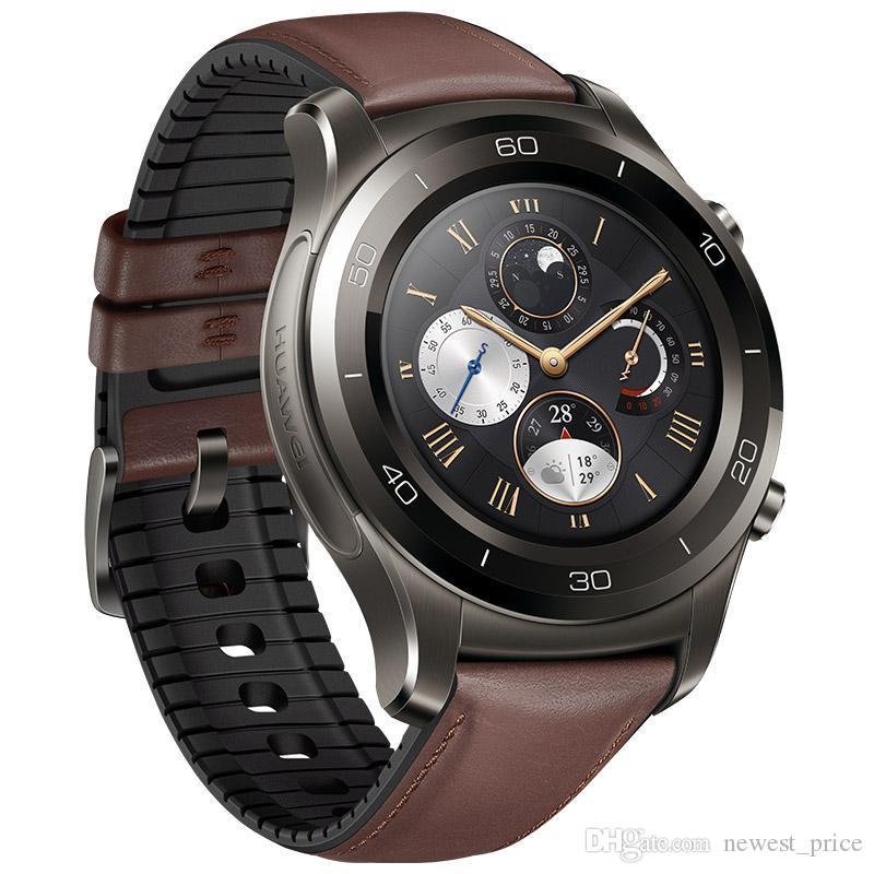 D'origine montre Huawei 2 Pro montre Smart Watch support 4G LTE Phone Call GPS NFC Moniteur de fréquence cardiaque eSIM intelligent pour Android iPhone Wristwatch Téléphone