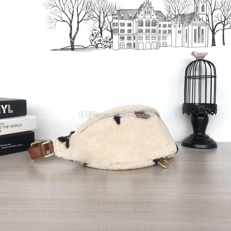 Nouveau sac banane hiver poches 2019 sacs de créateurs de luxe de marque de mode sacs en peluche M55425 sacs à main des femmes portefeuille sac à bandoulière sacs de luxe