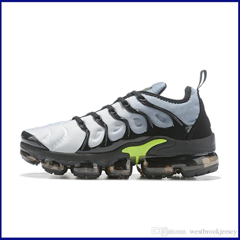 Marca TN Plus diseñador zapatillas de deporte para hombre Tns zapatos al aire libre aptitud de la gimnasia de zapatos Blanco Negro Gris Deporte Formadores Chaussures Venta
