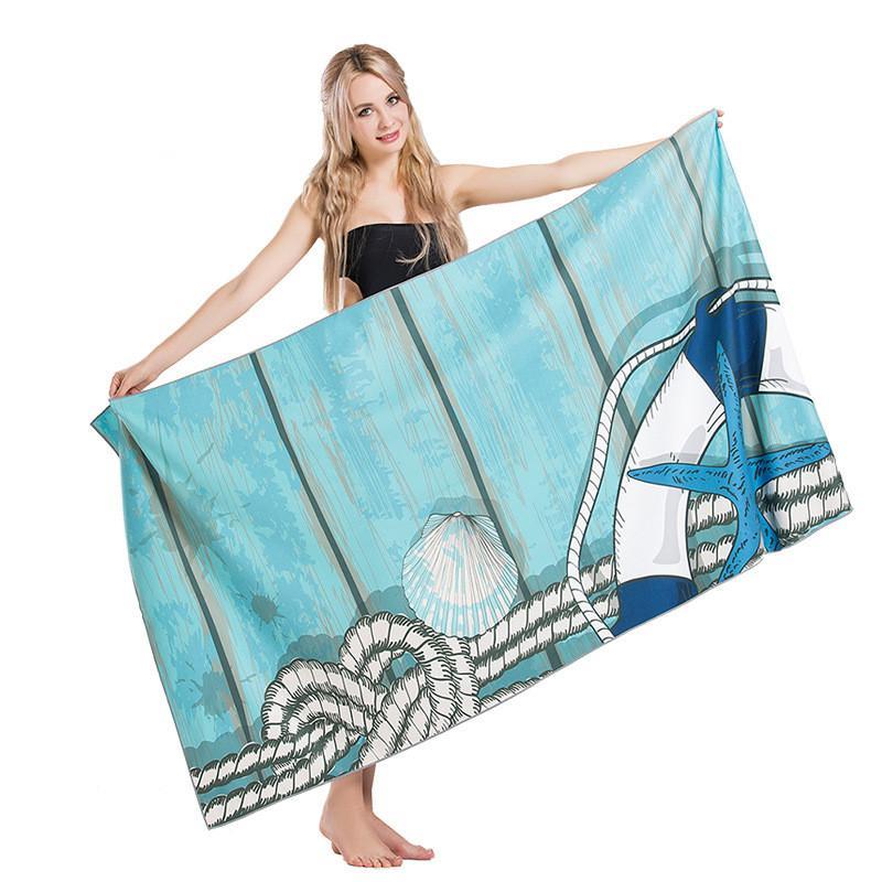 Спорт Полотенце Mother подарки, Quick-Dry Женщины Мужчины пляжное полотенце, невесты подарок, полотенце, бассейн полотенце 90x170cm