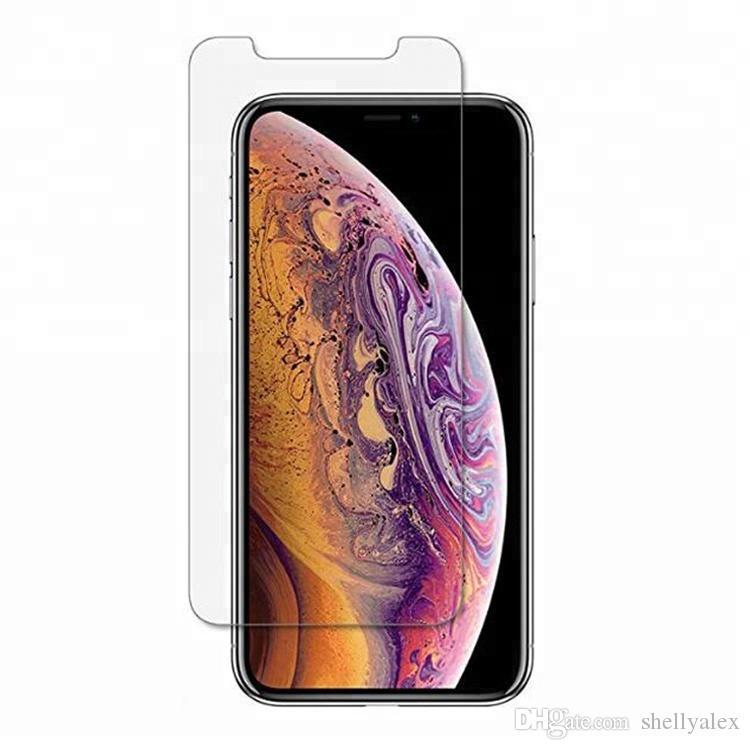 Per iPhone 11 vetro temperato iphone 8 Più Protezione Dello Schermo di iPhone 6 Pellicola Per La Galassia J7 Prime J5 affinare con pacchetto di carta
