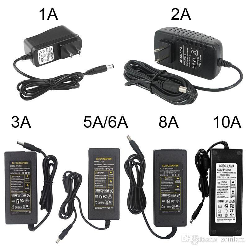 YUNBO Adaptateur dalimentation 12V 10A Transformateurs 120W Adaptateur Secteur Chargeur Pour LED Ruban